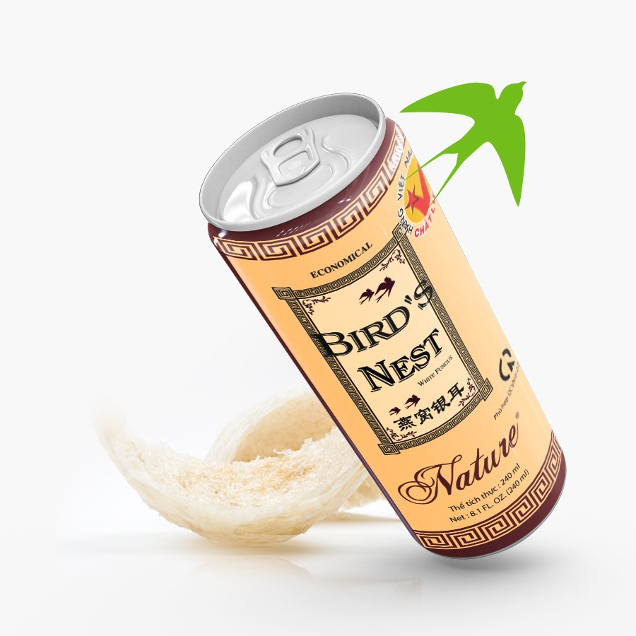 Economical white fungus bird's nest drink