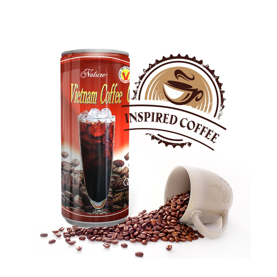 Black coffee drink