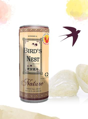 Economical white fungus bird's nest drink