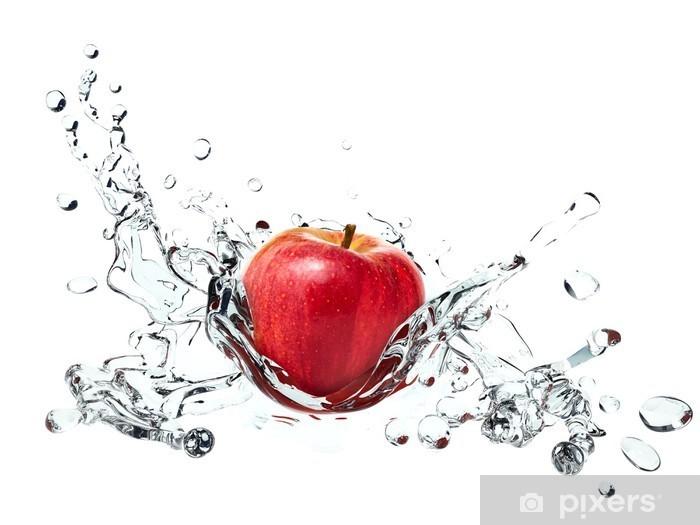 Red apple juice
