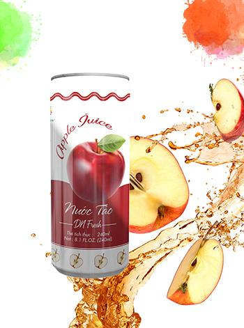 Red apple juice